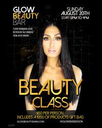 makeup classes nj makeup class of glow beauty bar sunday august 20th glow
