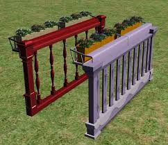 mod the sims flower box for balconies and fences upd 08august2007