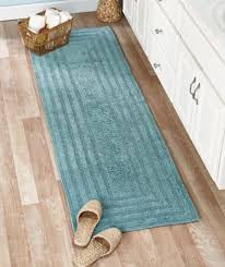 Cotton Bathroom Rugs Per Your With A Soft Reversible Cotton Bath Rug Or 72