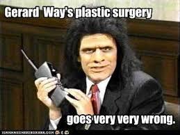 Gerard Way Memes - gerard way s plastic surgery cheezburger funny memes funny