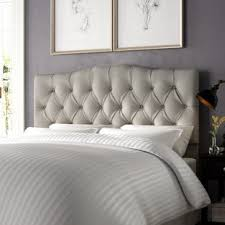 Cover Bed Frame Bed Frame And Headboard Wayfair