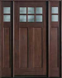 wood and glass exterior doors wood entry doors from doors for builders inc solid wood entry