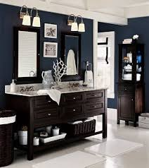 navy blue bathroom ideas curtains w blue bath image from potterybarn http www