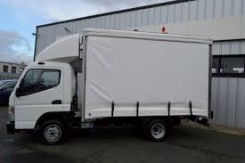 truck mitsubishi fuso new mitsubishi fuso canter 3 5 ton curtain side over 1 ton payload