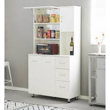 kitchen storage cabinets with drawers basicwise white kitchen pantry storage cabinet with doors