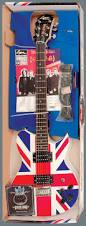 Define Flag Lot Detail Def Leppard Custom Made Washburn British Flag Guitar