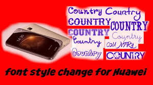 how to change font style for huawei smart phone aman youtube