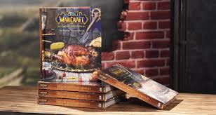 un livre de cuisine of warcraft le livre de cuisine officiel 5 exemplaires à