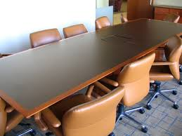 Square Boardroom Table Law Office Auction Conference Tables