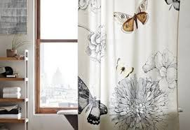 Regular Curtains As Shower Curtains Brightnest Properly Clean Your Shower Curtain And Liner