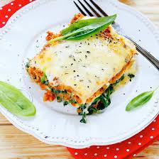 jeux de cuisine lasagne lasagne aux chignons et aux épinards coup de pouce