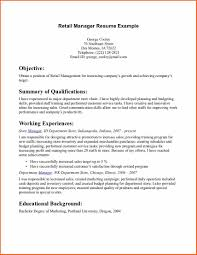 Manager Retail Resume Luxury Retail Manager Resume Free Resume Example And Writing
