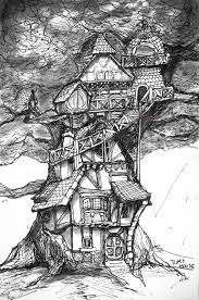 85 best tree house images on pinterest cartoon house concept