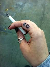 Finger Tribal - 101 finger tattoos designs your will also allow