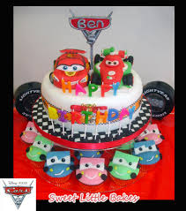 cars cake toppers cars 2 birthday cake mini cake topper car cupcakes flickr