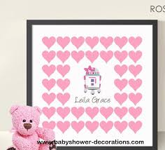 wars baby shower decorations wars baby shower birthday guestbook 12x12 print girl baby