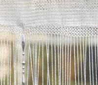 Hippie Beaded Door Curtains Bamboo Beaded Curtain Shop Kate Silver Metallic Circles Crystal