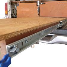 drawer slide locking mechanism vehicle parts accessories 2 x1200mm 227kg drawer slides fridge