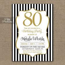 80th birthday invitations 80th birthday picmia