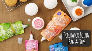 Decorating Icing For Cookies Add Quick Details To Cakes With The Wilton Icing Pouch Youtube