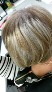 coloring gray hair with highlights hair highlights for silver highlights easy way to start the transition to having gray