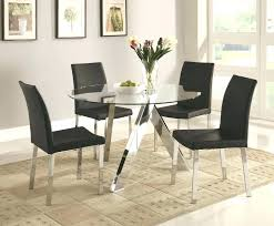 round glass table for 6 round glass dining table set for 6 lesdonheures com