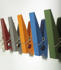 modern picture of kid colorful decorative hook diy wall coat rack