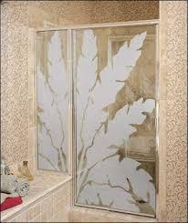 Decorative Shower Doors Shower Doors Custom Glass Shower Doors B L Glass Company