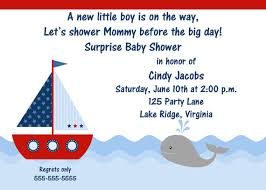 nautical baby shower invitations nautical baby shower invitations templates invitations templates