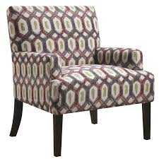 Home Decor Accent Chairs by Fresh Patterned Accent Chairs On Home Decor Ideas With Patterned