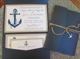nautical themed wedding invitations nautical theme destination wedding invitation anchor navy blue