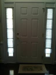Door Window Curtains Small Front Doors Front Door Sidelight Curtain Rods Front Door Ideas