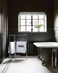 Black And Yellow Bathroom Ideas Bathrooms Classic Vintage Black And White Tiles In Bathroom
