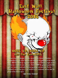 east wall halloween festival 2016 u2013 east wall for all