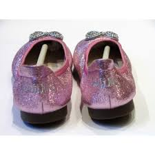 shimmer lights purple shoo lelli kelly new magiche folding ballet pumps pink glitter at poppy red