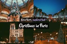 been there explored that christmas in paris been there blanked