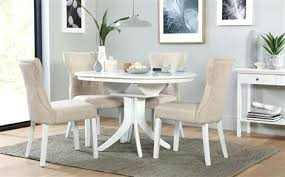 round extending dining room table and chairs dining table and chairs round white extending dining table with 4