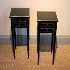 l tables for bedroom narrow bedside tables uk amys office