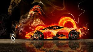 orange ferrari ferrari fire horse car 2014 el tony