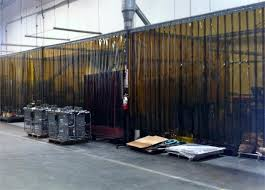 The Warehouse Curtain Sale Strip Curtains For Welding Spark Protection Bronze Pvc Strips