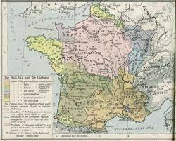Map France by French Revolution Maps