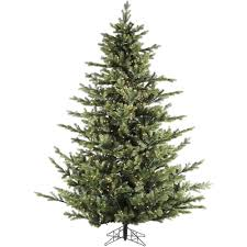 9 foot christmas tree fraser hill farm 7 5 ft pre lit led foxtail pine artificial