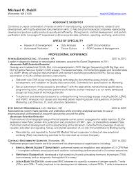 Qa Automation Engineer Resume Alluring Industry Resume Scientist About Senior Systems Engineer