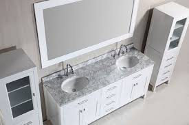 Bathroom Vanity Double Sink 72 by 72