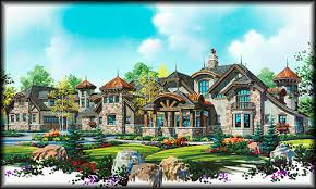 luxury home blueprints stock house plans search by floor plan type