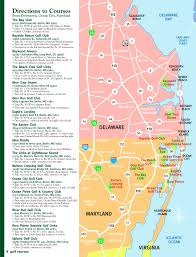 maryland map by city city md golf play golf in oc area golf map