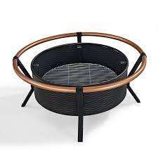 Firepit Rings Crosley Yuma Copper Ring Firepit Black Walmart