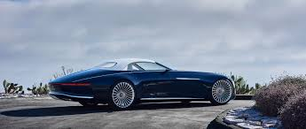 Luxury Vision Mercedes Maybach 6 Cabriolet Luxury Of The Future
