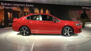 subaru impreza diesel 2017 subaru impreza sedan and hatch debut at new york auto show