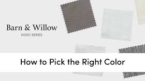 Pick Color by How To Pick The Right Color For Your Drapes Curtains Youtube